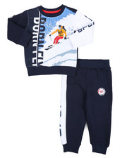 Born Fly - Fleece Sweatshirt & Jogger Pants (2T-4T)-2434741