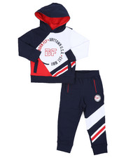 Boys - Fleece Hoodie & Jogger Pants (2T-4T)-2434817