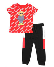 Boys - 2 Pc Tee & Jogger Pants Set (2T-4T)-2439931