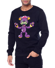 Hudson NYC - Zombie Brain Bear Crewneck Sweatshirt-2442153