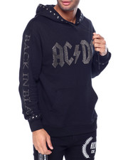 Hudson NYC - AC DC Back In Black Stones Hoody-2442148