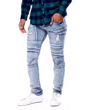 Buyers Picks - Articulated Thigh Zipper Moto Jean-2441949