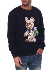 Hudson NYC - Evil Hand Bear Crewneck Sweatshirt-2442158
