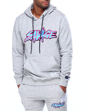 Hudson NYC - Savage Slash Embroidered Logo Hoody-2442137