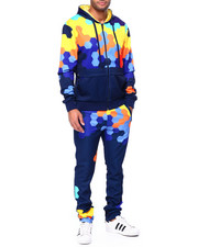 Sets - Zip Up Geometric Hoody Set-2442230