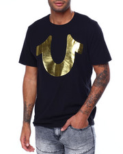 True Religion - GOLD BIG BUDDHA LOGO SS CREW-2442221