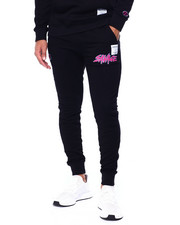 Hudson NYC - Savage Slash Logo Joggers-2442188