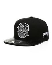 Hats - Drip Skull Snapback Hat-2439109