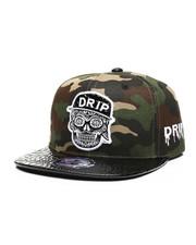 Buyers Picks - Drip Skull Snapback Hat-2439111