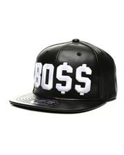 Hats - BO$$ Snapback Hat-2439119