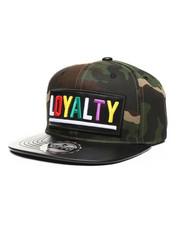 Hats - Loyalty PU Patch Snapback Hat-2439124