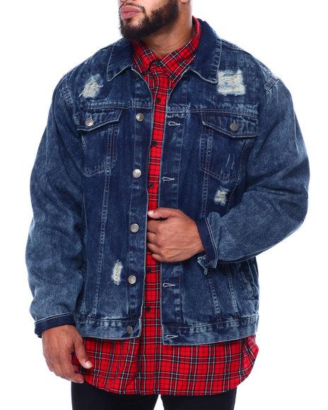 Buyers Picks - Denim Rip + Repair Jacket (B&T)