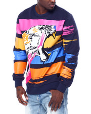 Makobi - Paint Stroke Tiger Sweatshirt-2442862