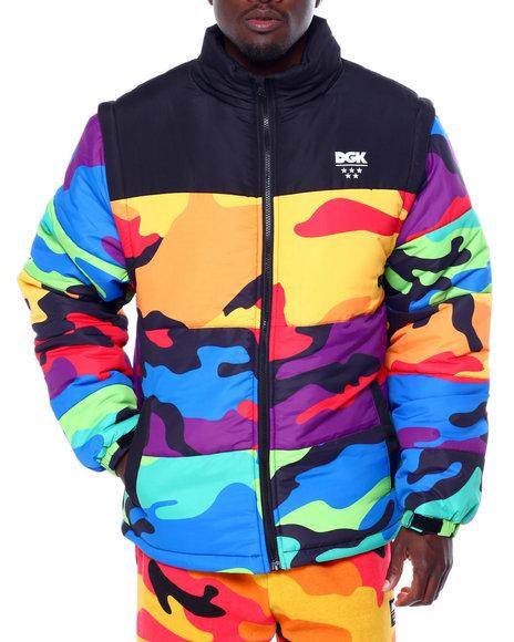 DGK - Breeze Camo Puff Jacket