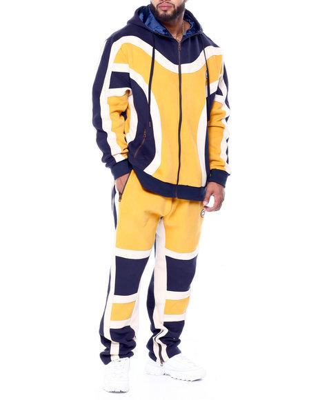 Makobi - Makobi Zip Up Fleece Set W/Suede (B&T)