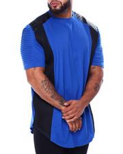Short-Sleeve - S/S PU W/Mesh + Moto (B&T)-2443363