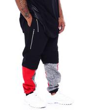 Joggers - Fleece Motto Zipper Joggers (B&T)-2443004