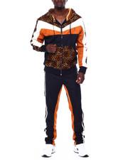 Makobi - Leopard Hoodie Set-2442837