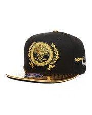 Buyers Picks - Skull Money Metallic Snapback Hat-2439127