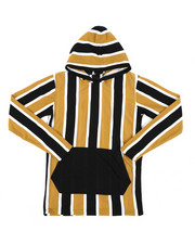 Boys - Stripe Hooded Shirt (8-18)-2442548