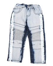 Boys - Moto Denim Jeans (2T-4T)-2442523