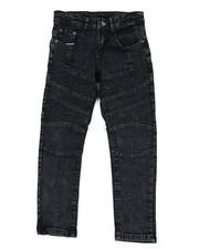 Sizes 8-20 - Big Kids - Skinny Stretch Moto Jeans (8-18)-2442516