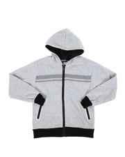Sizes 8-20 - Big Kids - Poly Interlock Hoodie (8-20)-2442597