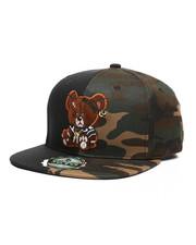 Buyers Picks - Color Block Bear Snapback Hat-2439174