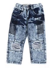 Boys - Moto Denim Jeans (2T-4T)-2442534