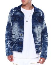 Buyers Picks - Distressed Seamed Denim Jacket-2443866
