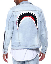 Hudson NYC - Shark Mouth Jean Jacket-2442244