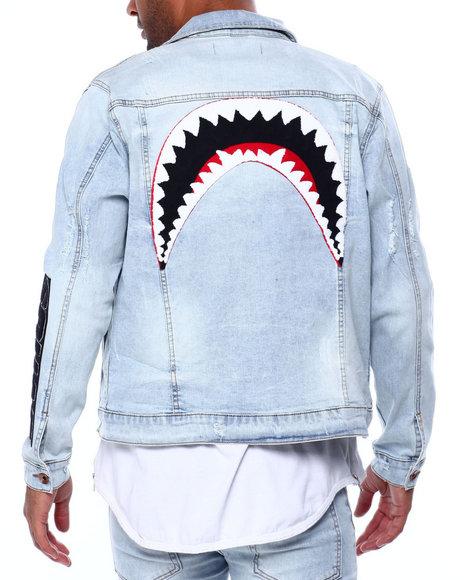 Hudson NYC - Shark Mouth Jean Jacket