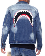 Hudson NYC - Shark Mouth Jean Jacket-2442240