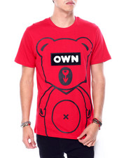 Shirts - Teddy OWN Chenille Patch Tee-2443697
