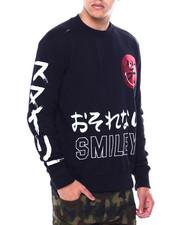 BLVCK - Smiley Crewneck Sweatshirt-2443632