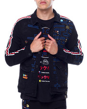 deKryptic - Pac man Denim Jacket-2443608