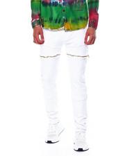 Buyers Picks - Zipper Cut and Sew Bull Denim Jean-2443823