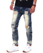 Makobi - Shredded Jean w Paint Spots-2442827