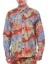 LRG - THE GENERAL LS WOVEN SHIRT-2442617