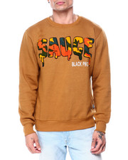 Buyers Picks - Sauce Camo Chenille Crewneck Sweatshirt-2445123