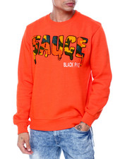 Buyers Picks - Sauce Camo Chenille Crewneck Sweatshirt-2445083