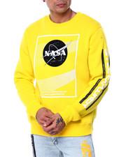 WT02 - Textured Nasa Crewneck Sweatshirt-2445820