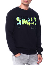 Buyers Picks - Sauce Camo Chenille Crewneck Sweatshirt-2445163