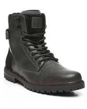 Footwear - Lace-Up Combat Boots-2444008