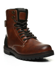 Footwear - Lace-Up Combat Boots-2443999