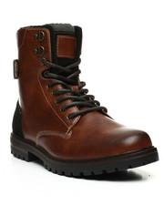 Men - Lace-Up Combat Boots-2443999