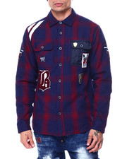 Born Fly - CREST SHIRT JACKET-2445380