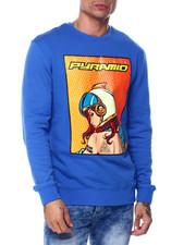 Men - Space Girl Look Back Crewneck Sweatshirt-2445349