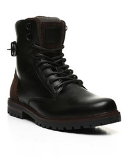 Footwear - Lace-Up Combat Boots-2443989