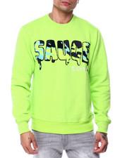 Men - Sauce Camo Chenille Crewneck Sweatshirt-2445153